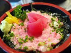 Free Tuna Fish Sushi Rice Stock Photo - 9760220