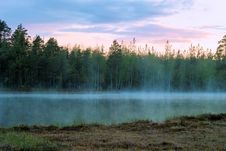 Free Evening At The Tarn Royalty Free Stock Image - 9760316