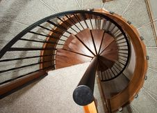 Free Spiral Staircase Royalty Free Stock Photo - 9760635