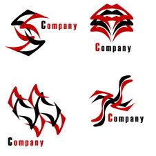 Free Company Logo Pack Royalty Free Stock Photos - 9761388