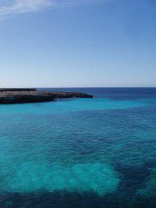 Bayview Menorca Spain Stock Image