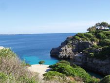 Free Cala En Brut On Menorca Spain Stock Photo - 9761490