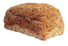 Free Bread On White. Royalty Free Stock Photos - 9761598
