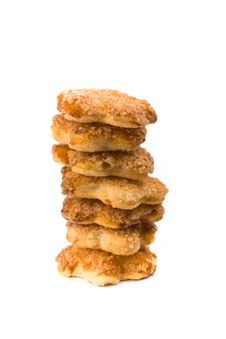 Free Stack Of Cookies Royalty Free Stock Photo - 9761645