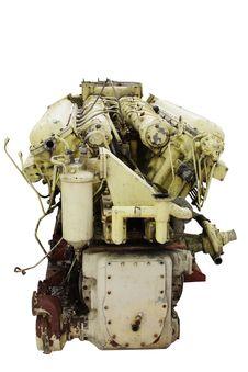 Free Ship Engine Royalty Free Stock Photography - 9761827