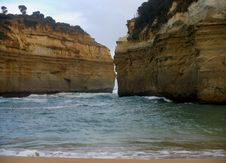 Free Loch Ard Gorge Stock Images - 9762084