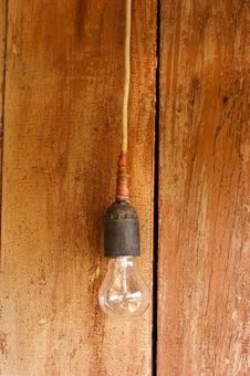 Free Lonely Old Lamp Stock Image - 9763471