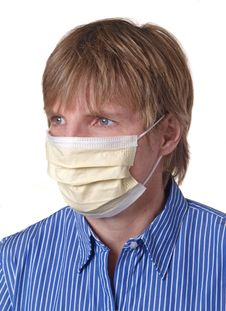 Free Surgical Mask Royalty Free Stock Image - 9763866
