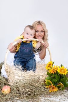 Free Mother And Son Stock Image - 9764031