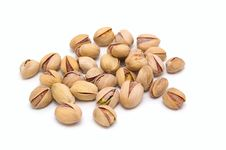 Free Pistachio Nuts. Royalty Free Stock Photo - 9764135