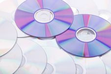 Free Background From The Compact Discs Stock Photography - 9764472