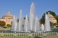 Free Park In Front Of  Hagia Sophia Stock Images - 9765514