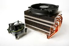 Free Cpu Cooler Stock Image - 9766241