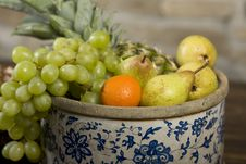 Free Basket Full Of Fruits Stock Photos - 9766243