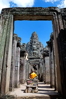 Free Bayon Temple Series 03 Royalty Free Stock Photography - 9766327