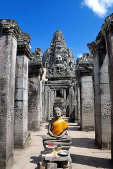Free Bayon Temple Series 05 Stock Images - 9766384