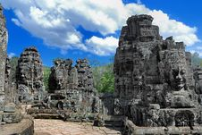Free Bayon Temple Series 07 Stock Photos - 9766643