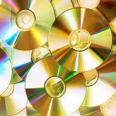 Free Disks Stock Photography - 9766942
