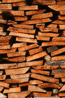 Free Firewood Royalty Free Stock Photos - 9767038