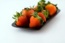 Free Strawberries Close Up Royalty Free Stock Image - 9767506