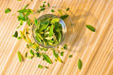 Free Green Tea Freshness Stock Photos - 9768463