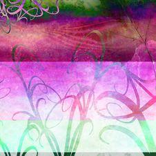 Free Grunge Retro Background Royalty Free Stock Photography - 9768787