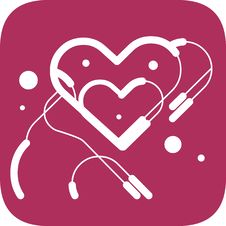 Free Hearts Within Heart Vector Royalty Free Stock Photography - 9769387