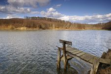 Free Spring On The Lake Stock Photography - 9769802