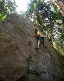 Free Bouldering-7 Stock Photography - 97650272