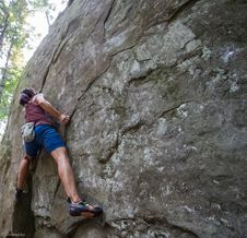 Free Bouldering-9 Stock Photography - 97650312