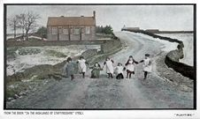 Free Staffordshire Moorlands School In Winter, Circa Early 1900s Royalty Free Stock Photos - 97650338