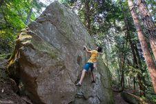 Free Bouldering-5 Royalty Free Stock Photo - 97650345