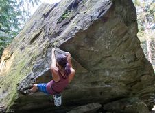 Free Bouldering-29 Stock Photography - 97650372
