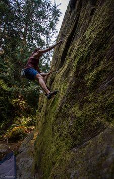 Free Bouldering-26 Royalty Free Stock Photos - 97650418