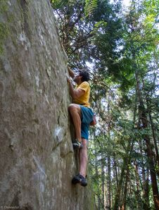 Free Bouldering-18 Stock Photography - 97650442