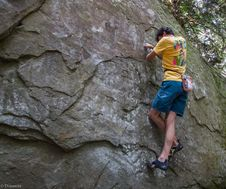 Free Bouldering-14 Royalty Free Stock Images - 97650469