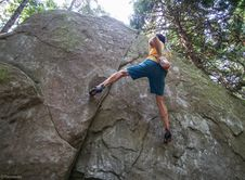 Free Bouldering-16 Stock Photography - 97650522