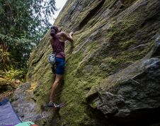 Free Bouldering-25 Stock Images - 97650534