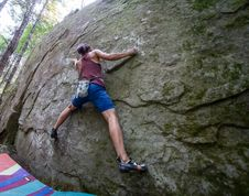Free Bouldering-19 Royalty Free Stock Images - 97650579