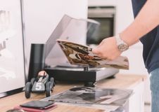 Free Record Player Royalty Free Stock Photo - 97650595