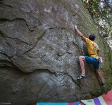 Free Bouldering-13 Stock Photography - 97650672
