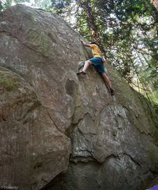 Free Bouldering-8 Royalty Free Stock Photography - 97650707