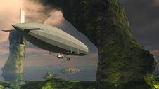 Free Aircraft, Zeppelin, Airship, Sky Royalty Free Stock Photos - 97663398