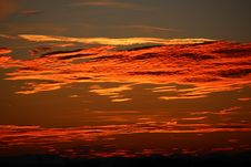 Free Sky, Red Sky At Morning, Afterglow, Horizon Stock Image - 97670321
