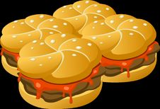Free Yellow, Hamburger, Food, Fast Food Stock Photography - 97671472