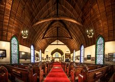 Free Chapel, Place Of Worship, Interior Design, Arch Stock Photo - 97672980