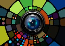 Free Technology, Circle, Design, Stained Glass Royalty Free Stock Images - 97674079