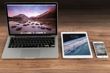 Free Laptop, Technology, Gadget, Electronic Device Stock Image - 97677741
