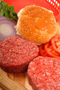 Free Ingredients For Hamburgers Royalty Free Stock Images - 9772939