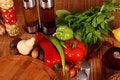Free Green-stuff. Fresh Vegetables Stock Image - 9775201